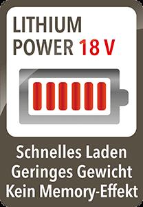 AEG AG35 Power ErgoRapido 18V Lithium Akku