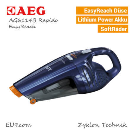 AEG AG6114B Rapido Staubsauger
