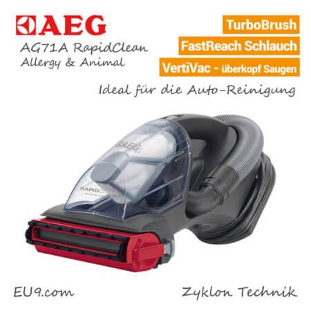 AEG AG71B RapidClean Staubsauger