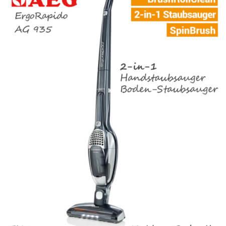 AEG ErgoRapido AG 935 Akku Staubsauger EU9