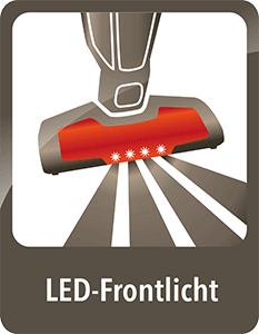 AEG ErgoRapido LED Frontlicht