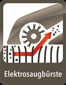 AEG ErgoRapido SpinBrush Elektro-Saugbürste