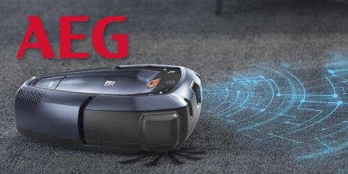 AEG Saugroboter RX-9 Roboter-Staubsauger EU9