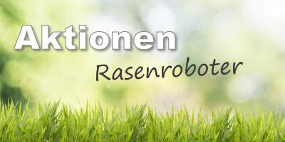 Aktionen Mähroboter-Rasenroboter
