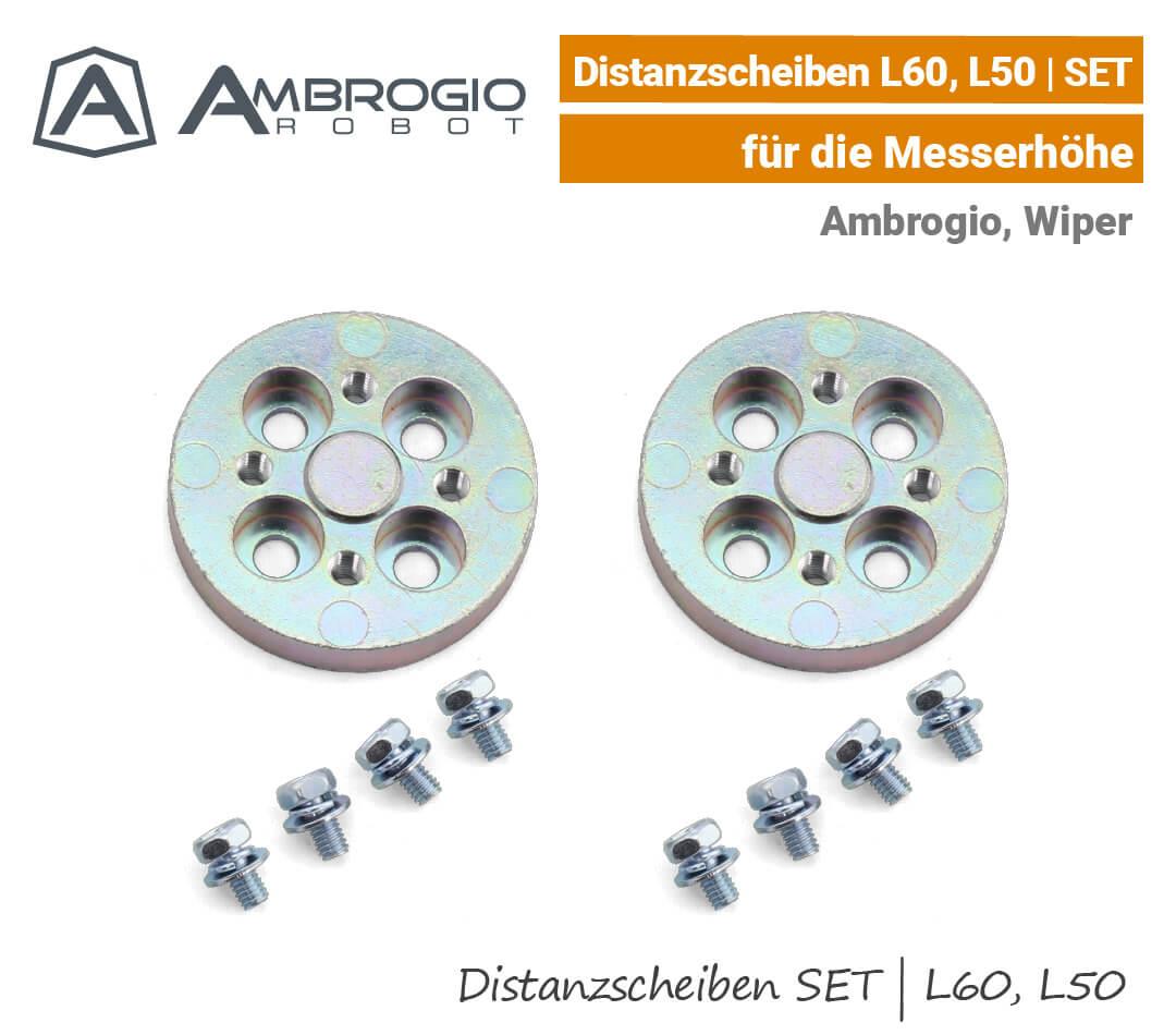 Ambrogio Distanzscheibe L60 L50 Wiper Blitz Messerhöhe EU9