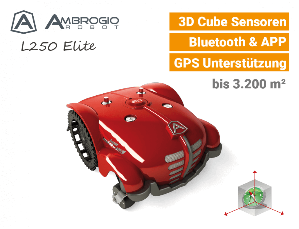 Ambrogio L250 Elite Mähroboter EU9