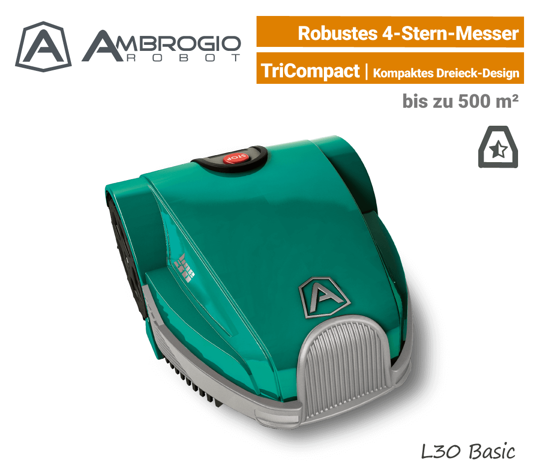 Ambrogio L30 Basic Mähroboter-Rasenroboter EU9
