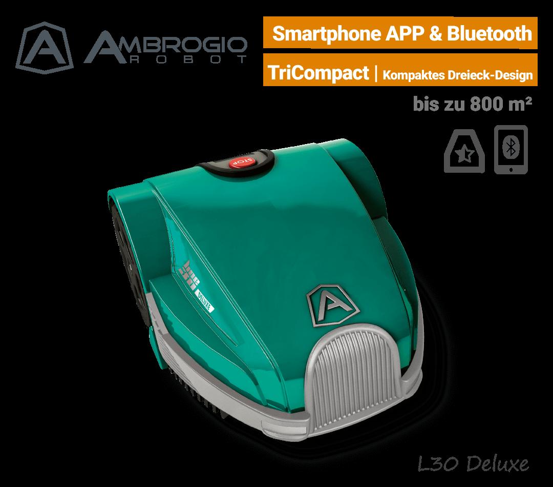 Ambrogio L30 Deluxe Mähroboter-Rasenroboter EU9