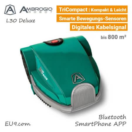 Ambrogio L30 Deluxe Rasenroboter-Mähroboter EU9