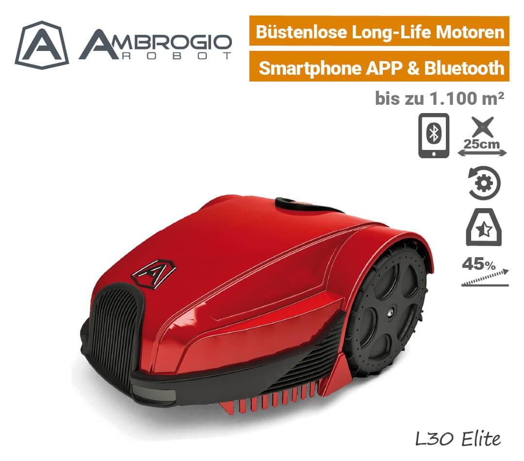 Ambrogio L30 Elite Rasenroboter EU9