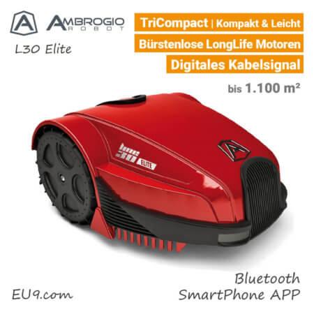 Ambrogio L30 Elite Rasenroboter-Mähroboter EU9
