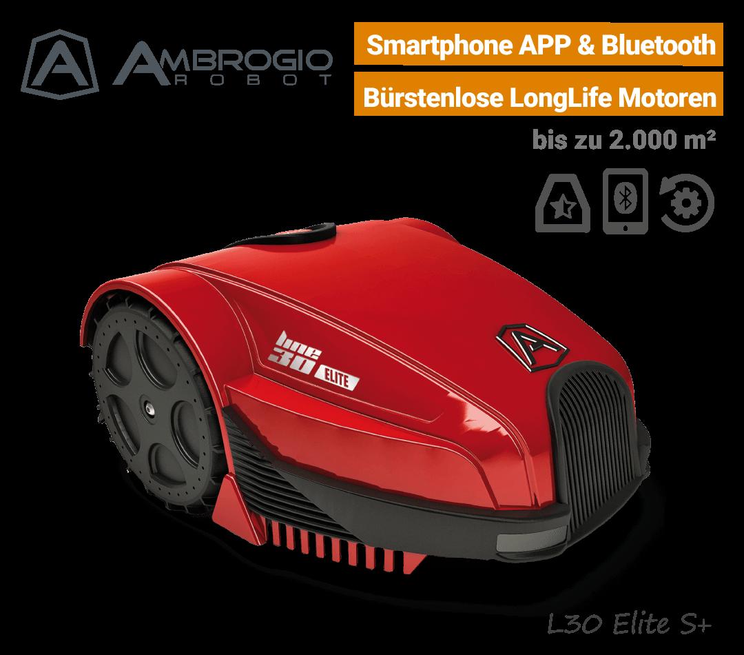 Ambrogio L30 Elite S Plus Mähroboter-Rasenroboter EU9