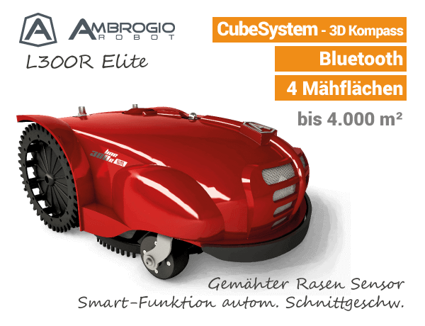 Ambrogio L300R Elite Rasenroboter EU9