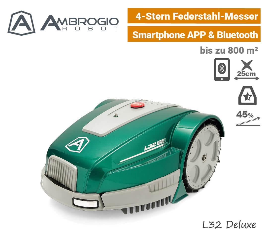 Ambrogio L32 Deluxe Rasenroboter EU9