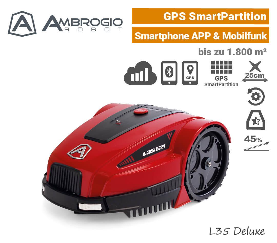 Ambrogio L35 Deluxe GPS Rasenroboter EU9
