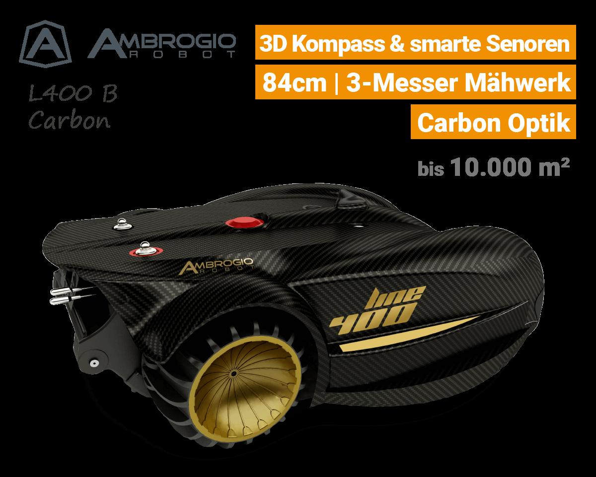 Ambrogio L400 B Rasenroboter-Mähroboter EU9