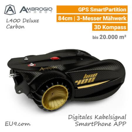 Ambrogio L400 Deluxe Rasenroboter-Mähroboter EU9