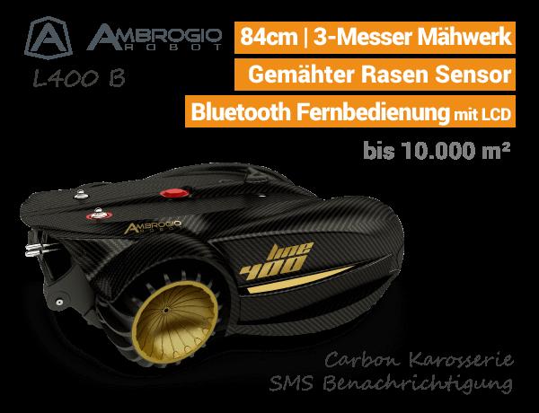 Ambrogio L400B Rasenroboter EU9