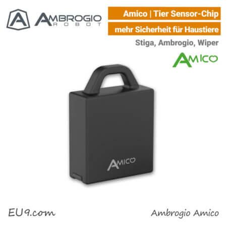 Ambrogio Stiga Amico Tier-Schutz Chip mehr Sicherheit für Haustiere EU9