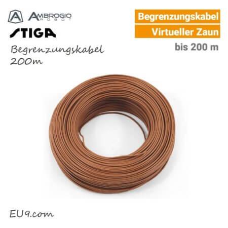Ambrogio-Stiga Begrenzungskabel 200m EU9