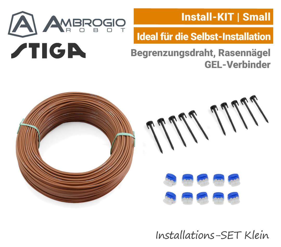 Ambrogio Stiga Installations-Kit Install-Kit S Klein Verlege-SET Small EU9