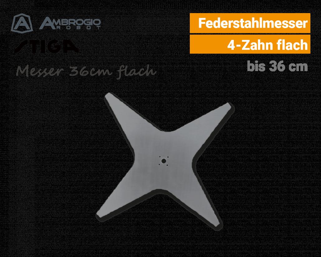 Ambrogio-Stiga Messer 36cm flach Rasenroboter EU9