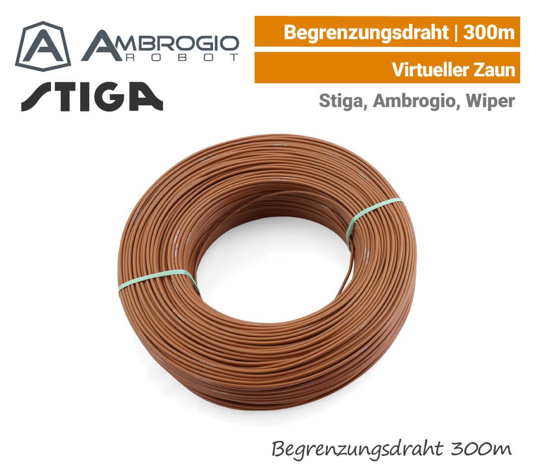 Ambrogio Stiga Wiper Begrenzungsdraht 300 m EU9