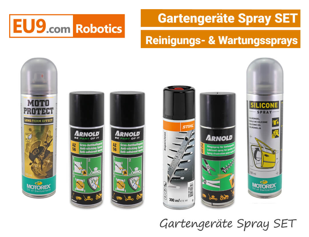 Arnold Motorex Stihl Gartengeräte Spray-SET EU9