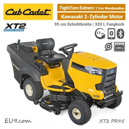 Cub Cadet XT2 PR95 Kawasaki 2-Zylinder Bluetooth Rasentraktor EU9