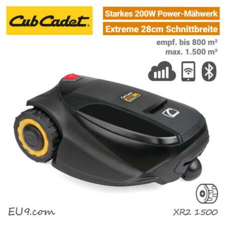 CubCadet XR2 1500 Mähroboter-Rasenroboter Mobilfunk EU9