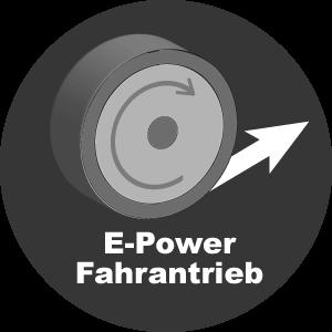E-Power Fahrantrieb variabel-stufenlos Radantrieb EU9