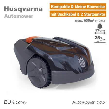 Husqvarna Automower 105 Mini-Mähroboter-Rasenroboter EU9