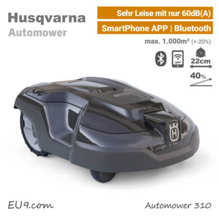 neu 2018 husqvarna automower 315 x m hroboter jetzt kaufen. Black Bedroom Furniture Sets. Home Design Ideas