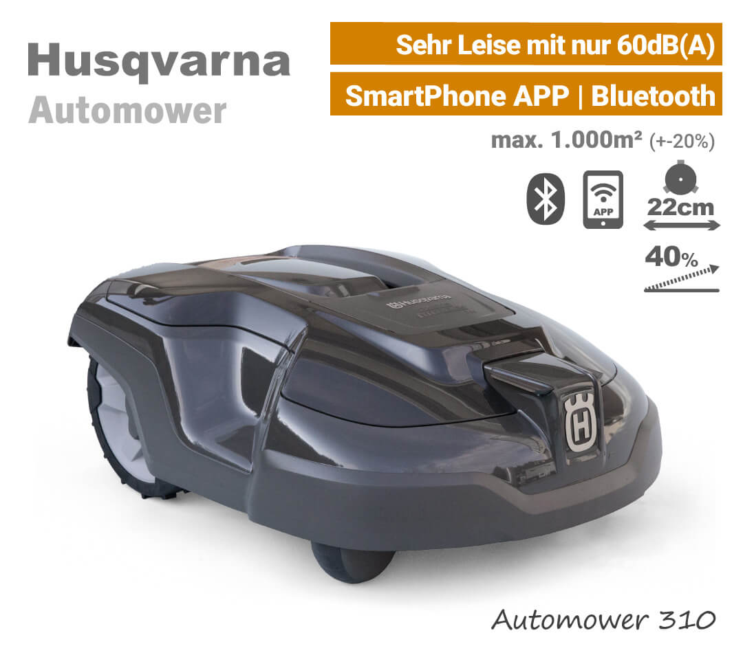 Husqvarna Automower 310 Mähroboter-Rasenroboter EU9