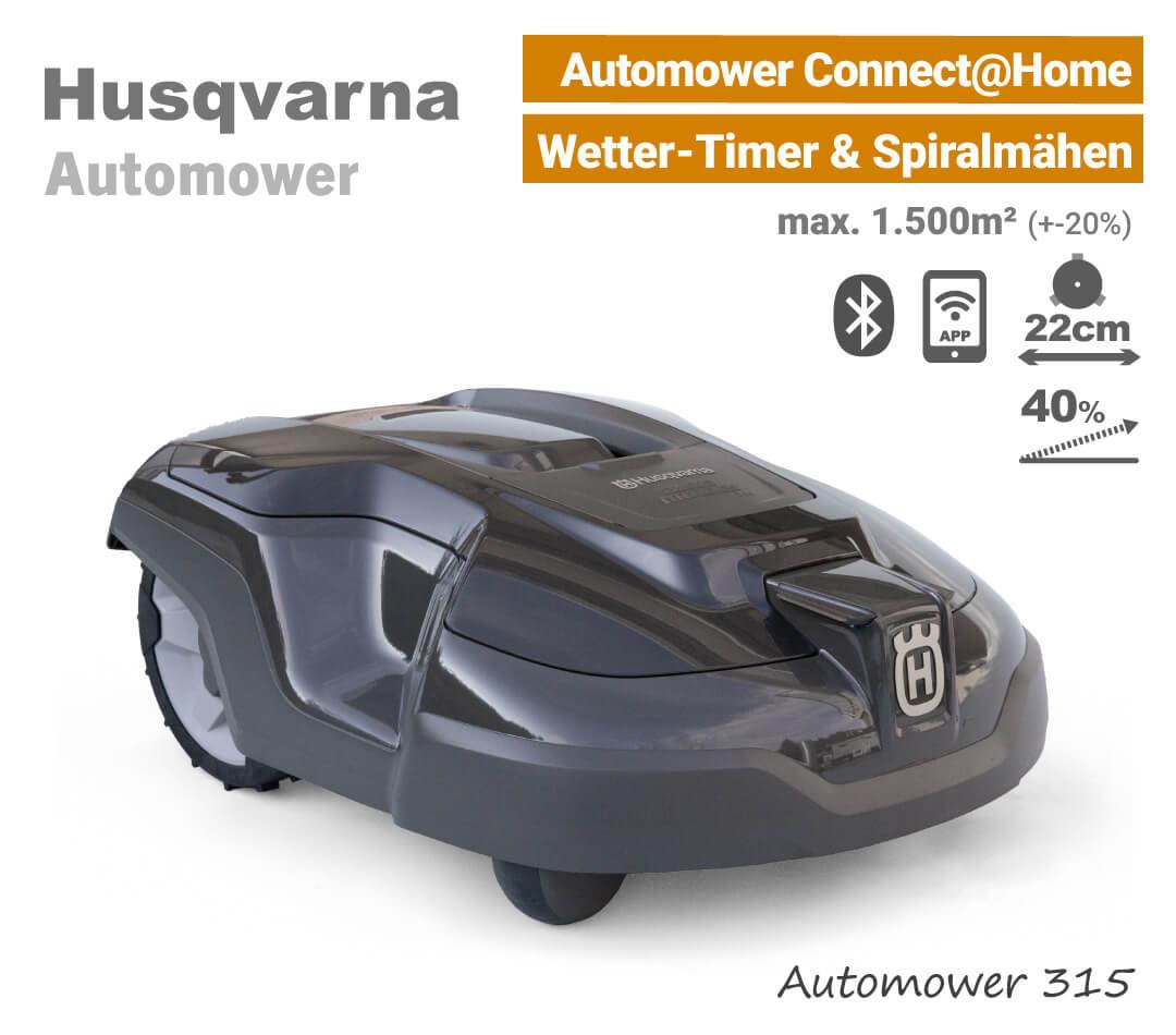 Husqvarna Automower 315 Mähroboter-Rasenroboter EU9