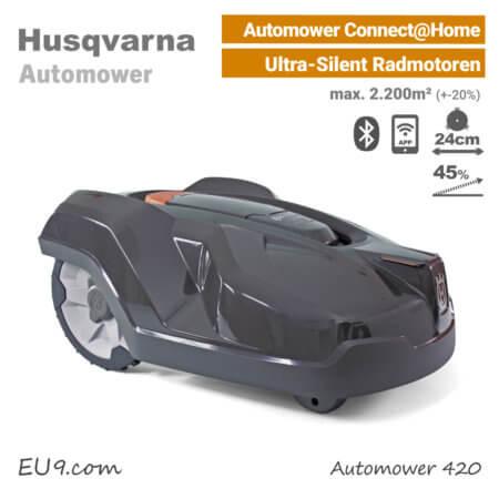 Husqvarna Automower 420 Mähroboter-Rasenroboter EU9