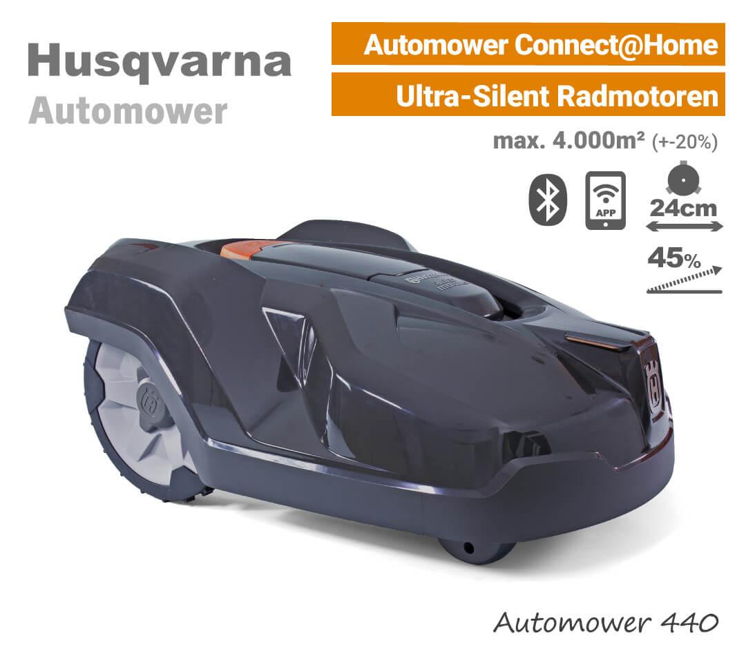 Husqvarna Automower 440 Mähroboter-Rasenroboter EU9
