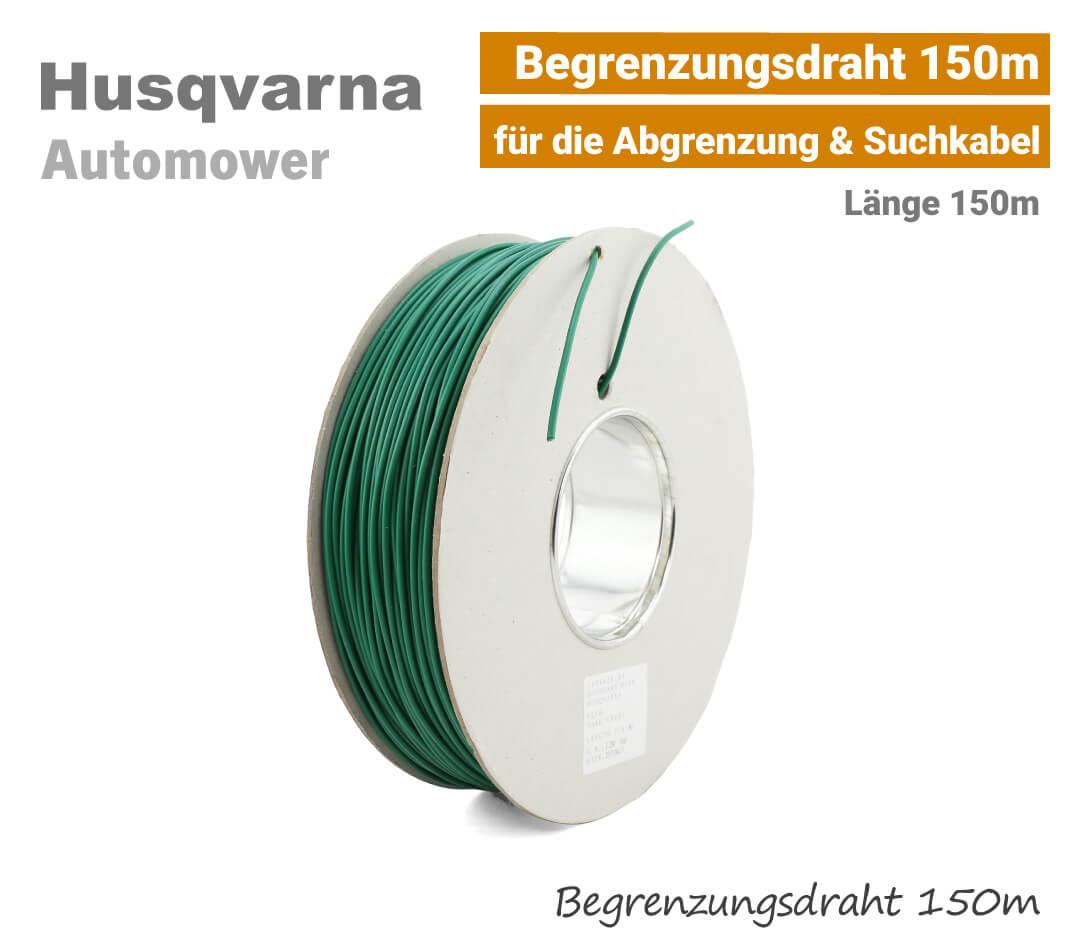 Husqvarna Automower Begrenzungskabel-Begrenzungsdraht 150m EU9