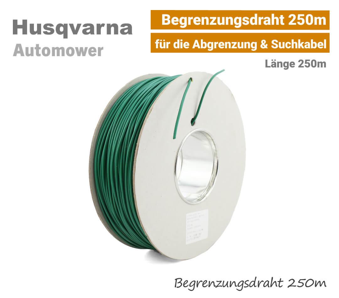 Husqvarna Automower Begrenzungskabel-Begrenzungsdraht 250m EU9