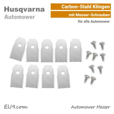 Husqvarna Automower Messer-Klingen Carbon-Stahl SET EU9