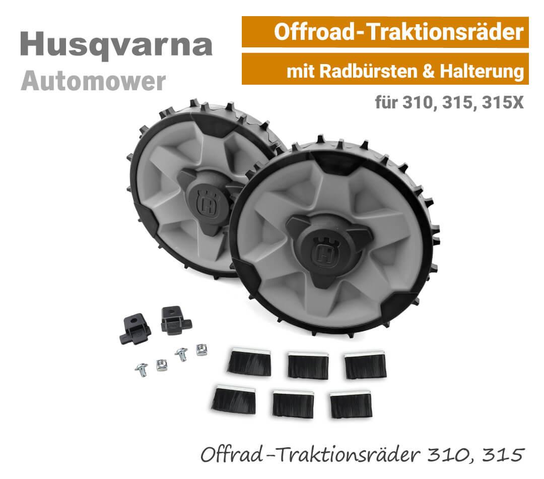 Husqvarna Automower Offroad-Traktionsräder Profilräder 310,315,315X EU9