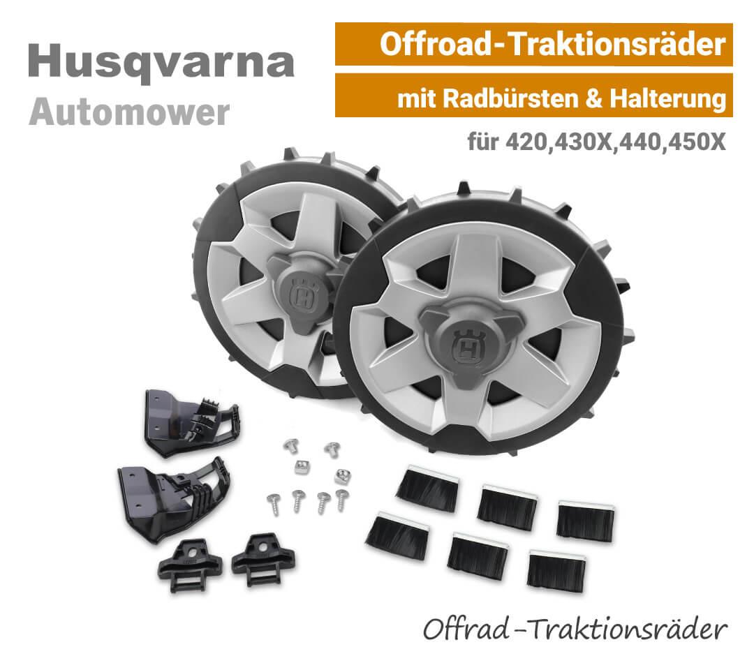 Husqvarna Automower Offroad-Traktionsräder Profilräder 420,430X,440,450X EU9