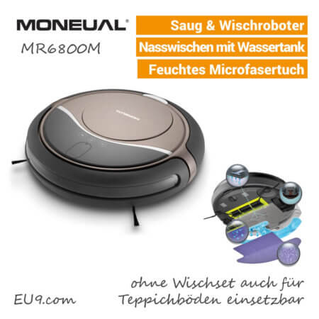 Moneual MR6800M Saug-Wischroboter