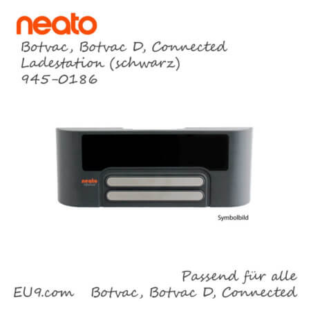 Neato Botvac Connected D Ladestation Dockingstation schwarz 945-0186