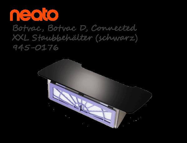 Neato Botvac Connected D XXL Staubbehälter schwarz 945-0176