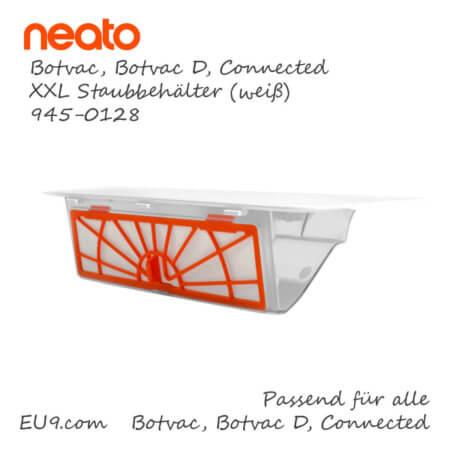 Neato Botvac Connected D XXL Staubbehälter weiss 945-0128