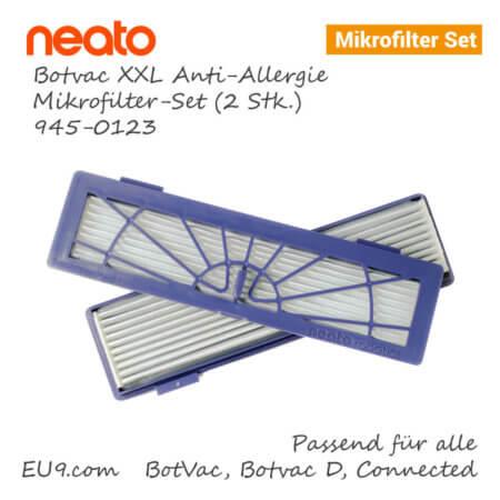 Neato Botvac D XXL Anti-Allergie Mikrofilter-Set 2stk 945-0123