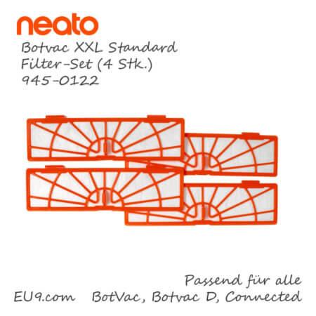 Neato Botvac D XXL Standard Filter-Set 4stk 945-0122