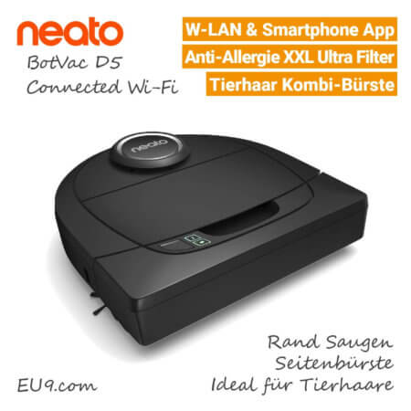 Neato D5 Connected Saugroboter - EU9