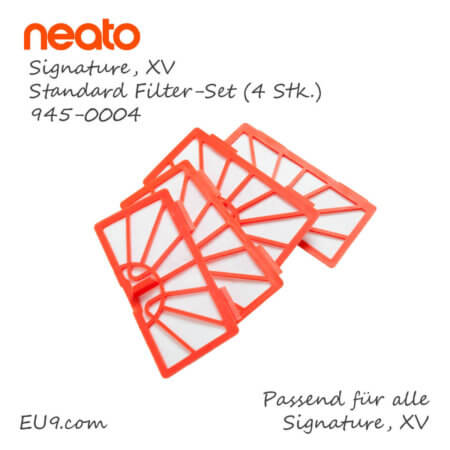 Neato XV Signature XL Standard Filter-Set 4stk 945-0004